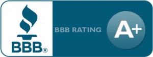 Knight Security has an A+ Rating with the BBB!