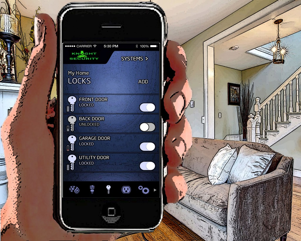 Cell Phone App to control your home automation